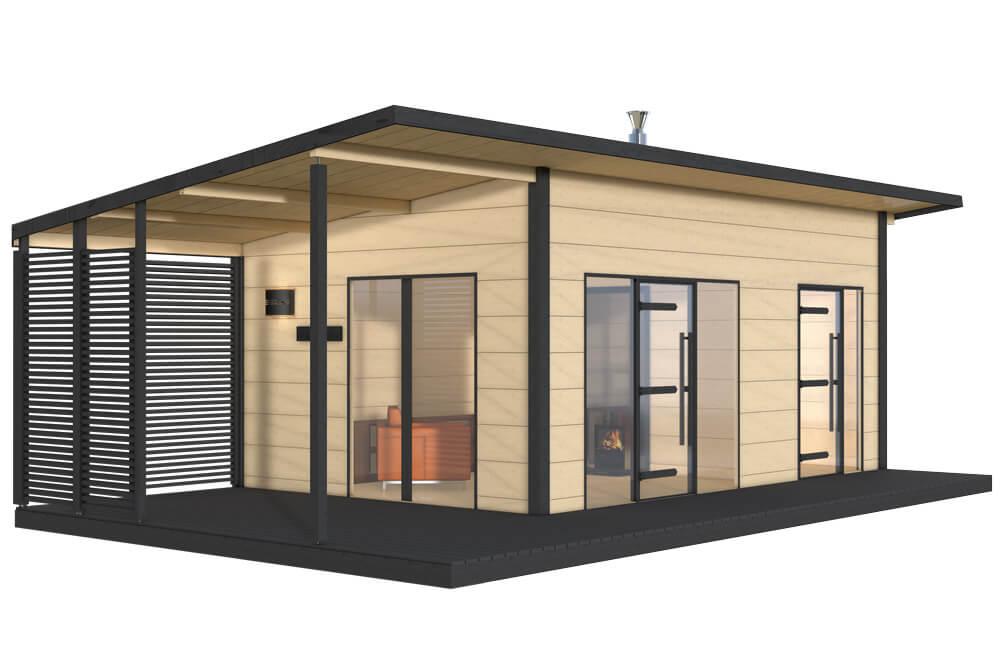 Harvia Solide 3 Aussen Sauna