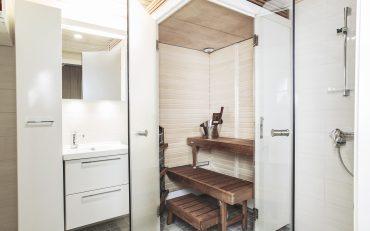 Platzsparende Saunen für Mehrfamilienhäuser aus Holz
