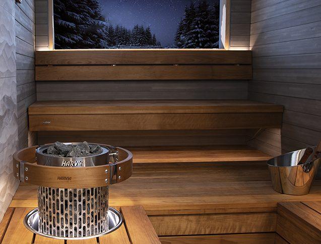 Harvia Cilindro Plus Spot Scala sauna lauteet