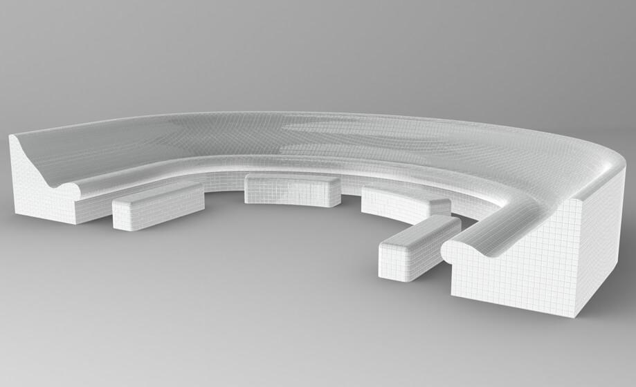 DeLuxe Sitzbank