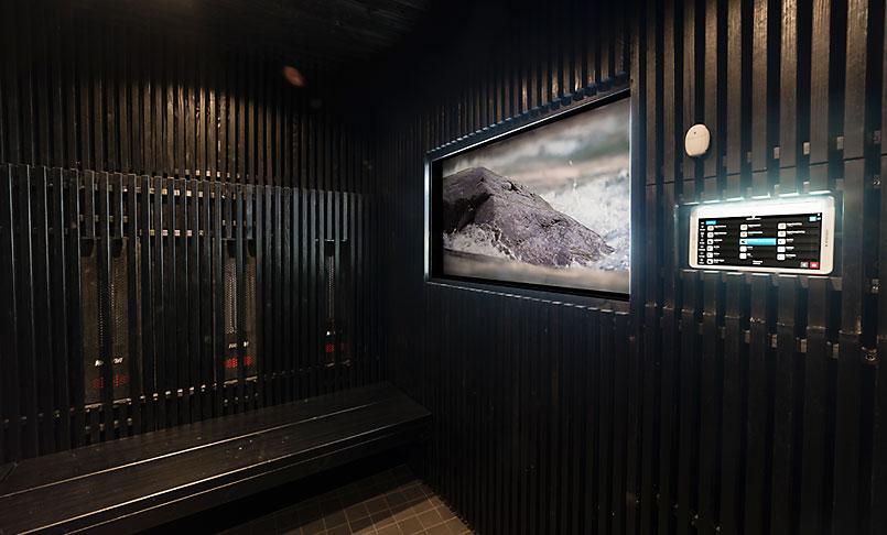 Musta sauna Harvia