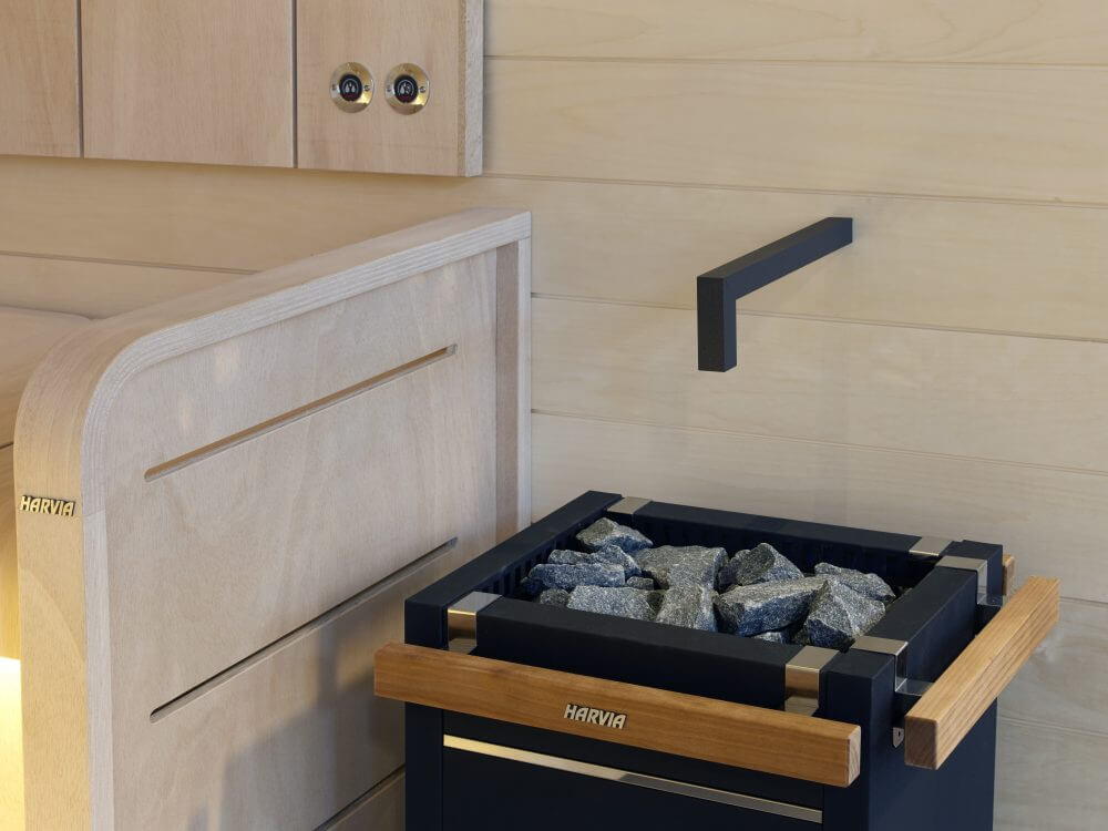Kiukaan suojakaide Harvia Sauna