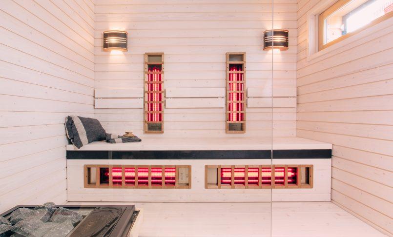 Hybridisauna ja luonnollista designia Porin asuntomessuilla – Asuntomessukohteissa on uusinta teknologiaa ja selkeää muotoilua