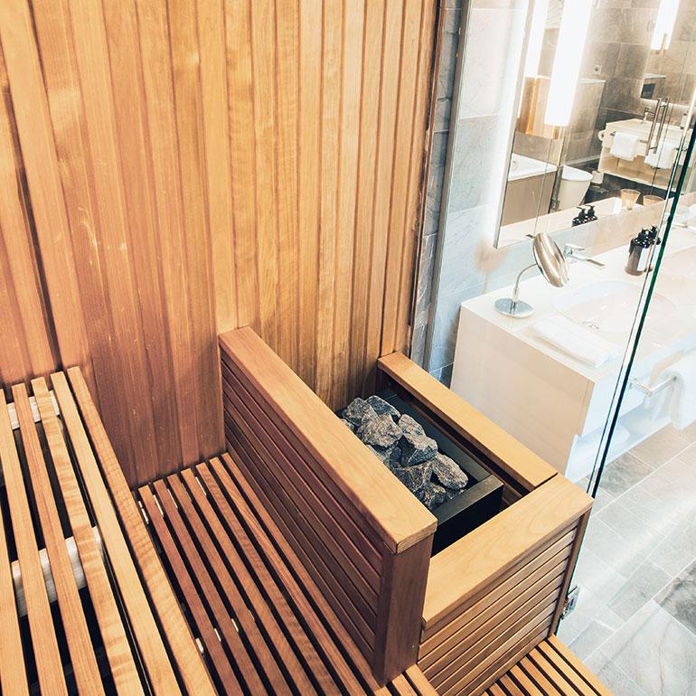 St. George Spa Helsinki Harvia Sauna