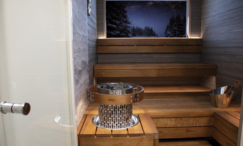 Harvia saunasisustukset