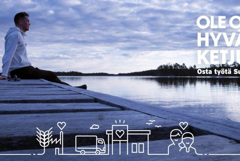 Suomalaisen työn liitto - ole osa hyvän ketjua -Harvia