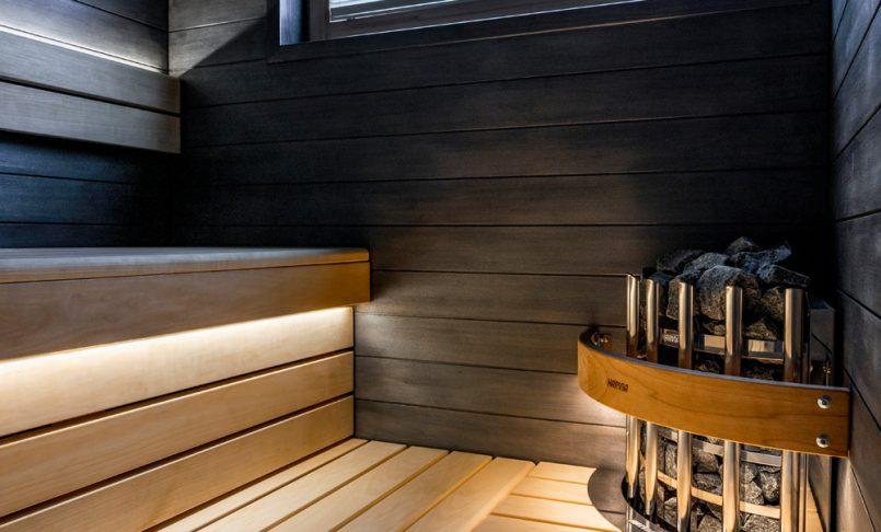 Harvia sauna Omatalo Kulma
