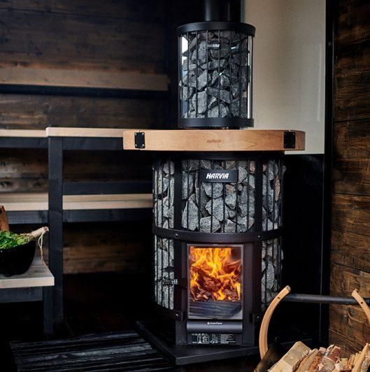 Legend greenflame harvia sauna