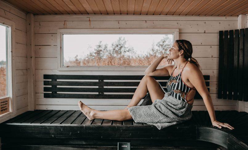 Sauna edistää palautumista urheilusuorituksen jälkeen.