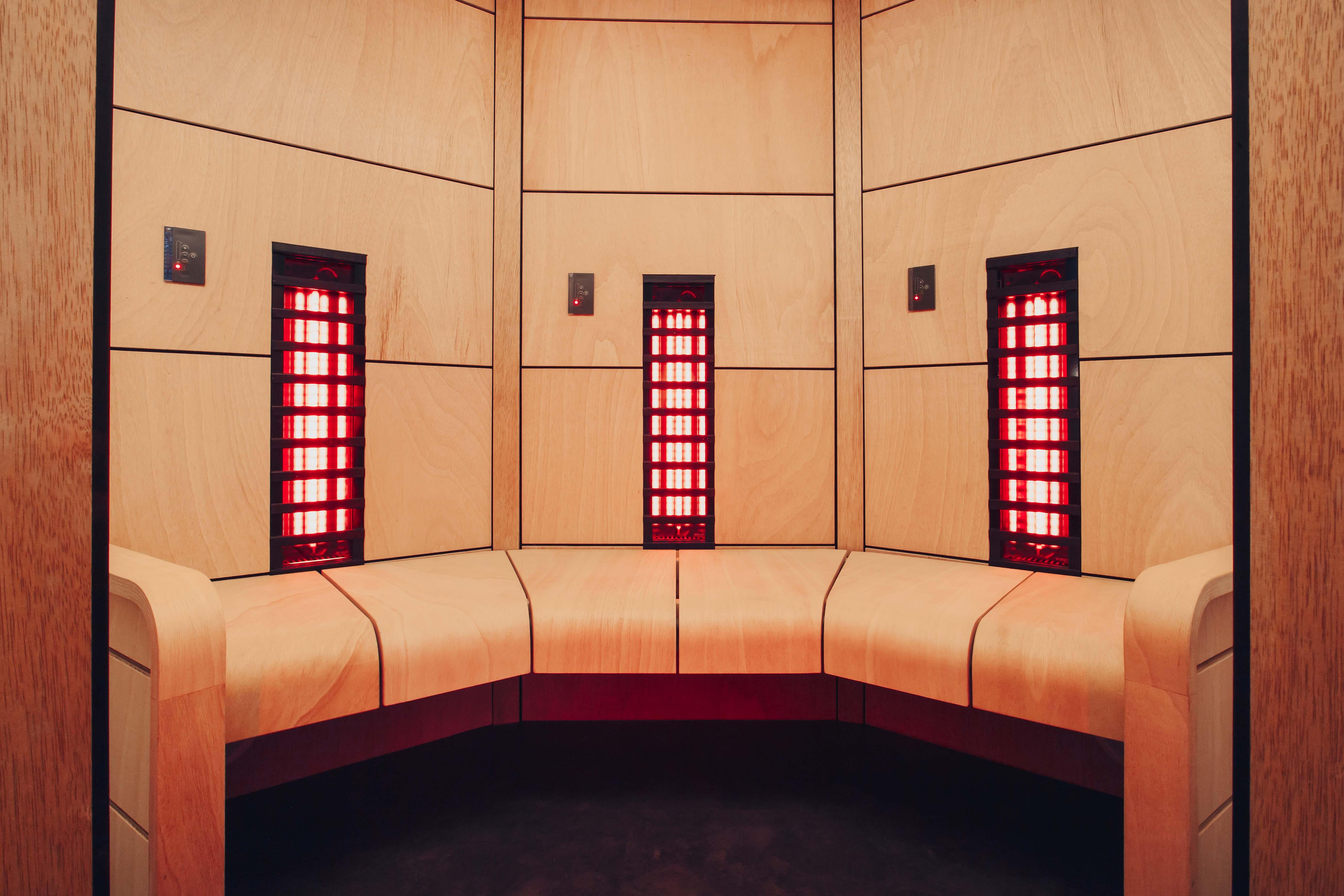 Harvia Ventura infrared sauna