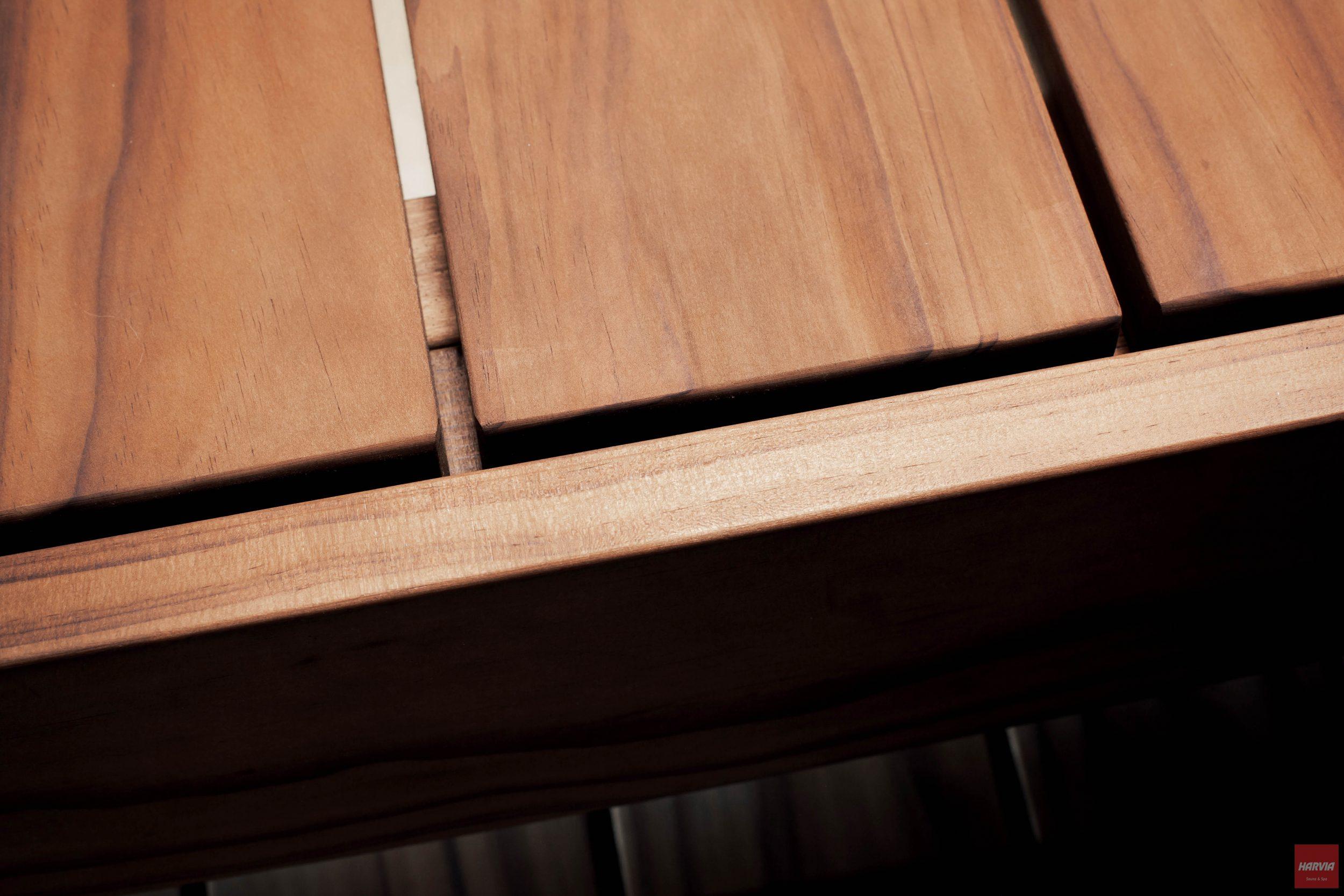 Harvia Radiata pine sauna benches