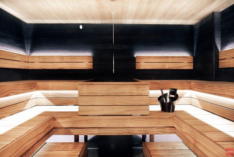 Pickala golf harvia sauna