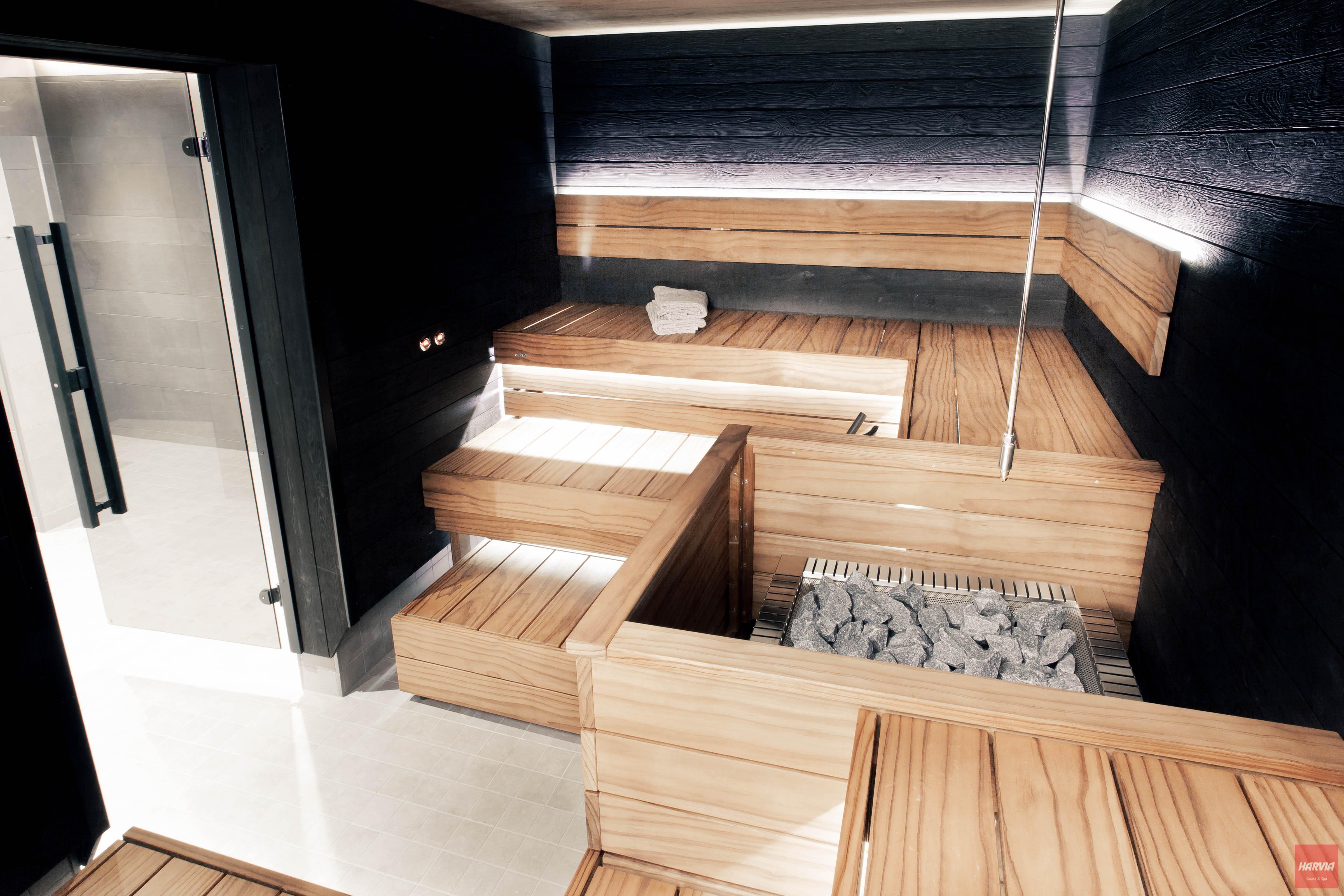 Harvia sauna Block lauteet